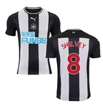 2019-2020 Newcastle Home Football Shirt (SHELVEY 8)