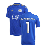 2019-2020 Leicester City Home Football Shirt (Kids) (SCHMEICHEL 1)