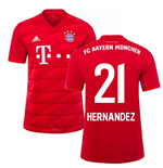 2019-2020 Bayern Munich Adidas Home Football Shirt (Hernandez 21)
