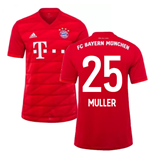 2019-2020 Bayern Munich Adidas Home Football Shirt (MULLER 25)