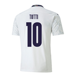 2020-2021 Italy Away Puma Football Shirt (TOTTI 10)
