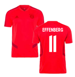 2019-2020 Bayern Munich Adidas Training Shirt (Red) (EFFENBERG 11)