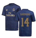 2019-2020 Real Madrid Adidas Away Shirt (Kids) (CASEMIRO 14)