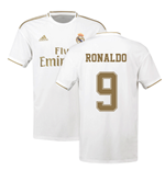 2019-2020 Real Madrid Adidas Home Football Shirt (RONALDO 9)