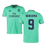 2019-2020 Real Madrid Adidas Third Shirt (Kids) (BENZEMA 9)