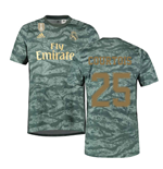 2019-2020 Real Madrid Adidas Away Goalkeeper Shirt (Courtois 25)