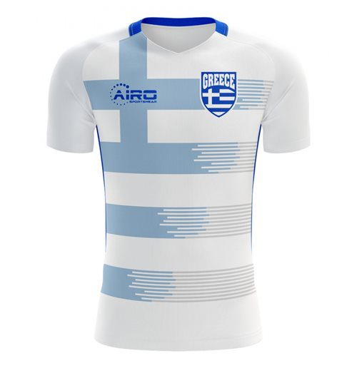 2018-2019 Greece Home Concept Football Shirt - Womens