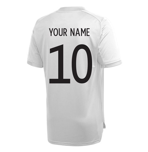 2020-2021 Germany Adidas Training Shirt (Grey) (Your Name)
