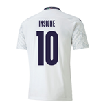 2020-2021 Italy Away Puma Football Shirt (INSIGNE 10)