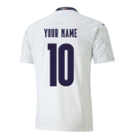 2020-2021 Italy Away Puma Football Shirt (Kids) (Your Name)