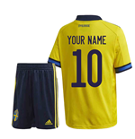 2020-2021 Sweden Home Adidas Mini Kit (Your Name)