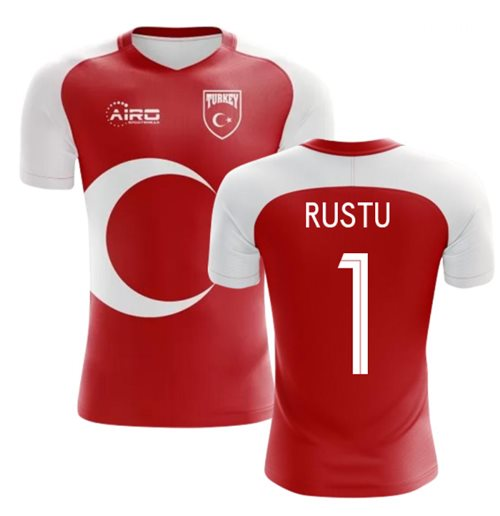 2018-2019 Turkey Home Concept Football Shirt (RUSTU 1)