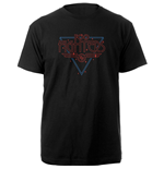 Foo Fighters Unisex Tee: Black Disco Outline