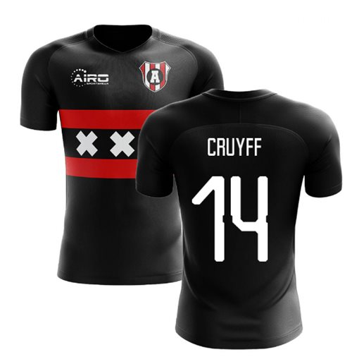 2019-2020 Ajax Away Concept Football Shirt (CRUYFF 14)