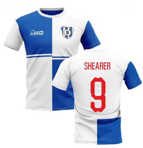 2019-2020 Blackburn Home Concept Football Shirt (Shearer 9)