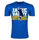 Jamie Vardy Leicester City Player T-Shirt (Royal)