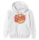 David Bowie Pullover Hoodie: Vintage Diamond Dogs Logo
