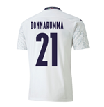 2020-2021 Italy Away Puma Football Shirt (Kids) (DONNARUMMA 21)