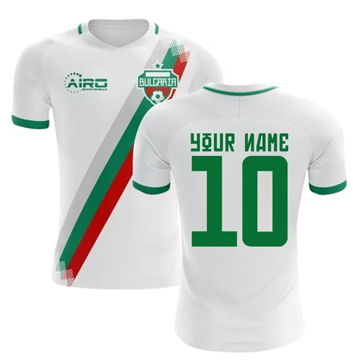 2018-19 Bulgaria Home Concept Shirt (Your Name) -Kids