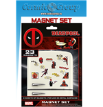 Marvel Deadpool Magnet Set Magnets