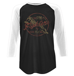 Foo Fighters Unisex Raglan Tee: Tiger