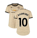 2019-2020 Man Utd Adidas Womens Away Shirt (Rashford 10)