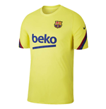 2019-2020 Barcelona Nike Training Shirt (Yellow)