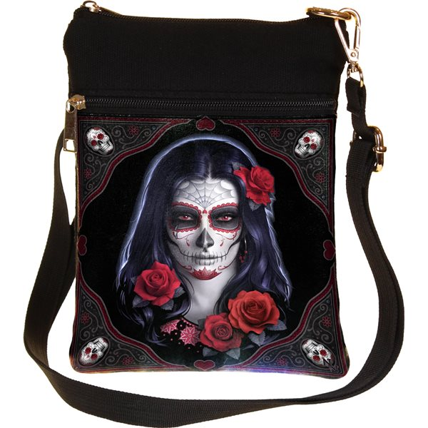 Generic Bag Bag Sugar Skull (23CM Shoulder BAG)