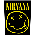 Nirvana Patch Smiley (BACKPATCH)