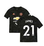 2019-2020 Man Utd Adidas Third Football Shirt (Kids) (James 21)