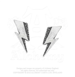 David Bowie Stud Earrings: Flash