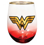 Wonder Woman Stemless Glass