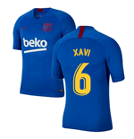 2019-2020 Barcelona Nike Training Shirt (Blue) - Kids (XAVI 6)