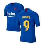 2019-2020 Barcelona Nike Training Shirt (Blue) - Kids (SUAREZ 9)