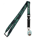 Rick  and  Morty Time To Get Schwifty Taping Lanyard