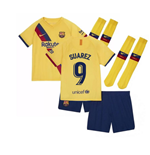 2019-2020 Barcelona Away Nike Little Boys Mini Kit (SUAREZ 9)