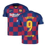 2019-2020 Barcelona Home Nike Football Shirt (CRUYFF 9)