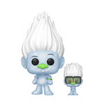 Trolls World Tour POP! Movies Vinyl Figure Hip Hop Guy (Diamond Glitter) w/ Tiny 9 cm