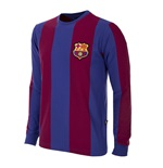 FC Barcelona 1973 - 74 Long Sleeve Retro Football Shirt