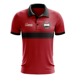 Egypt Concept Stripe Polo Shirt (Red)