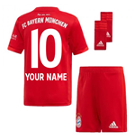 2019-2020 Bayern Munich Adidas Home Little Boys Mini Kit (Your Name)