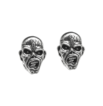 Iron Maiden Earrings Piece Of Mind (stud EARRINGS)