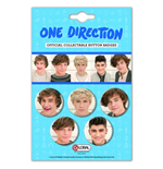 One Direction Button Badge Pack: Phase 4