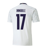 2020-2021 Italy Away Puma Football Shirt (IMMOBILE 17)