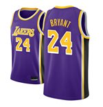 Men's Los Angeles Lakers Kobe Bryant Nike Purple Statement Edition Swingman Jersey
