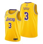Men's Los Angeles Lakers Anthony Davis Nike Gold Icon Edition Swingman Jersey