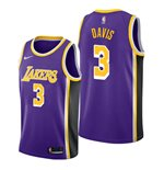 Men's Los Angeles Lakers Anthony Davis Nike Purple Statement Edition Swingman Jersey
