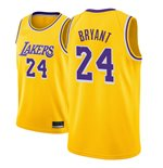 Men's Los Angeles Lakers Kobe Bryant Nike Gold Icon Edition Swingman Jersey