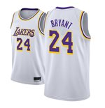 Men's Los Angeles Lakers Kobe Bryant Nike White Association Edition Swingman Jersey