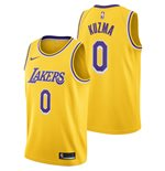 Men's Los Angeles Lakers Kyle Kuzma Nike Gold Icon Edition Swingman Jersey
